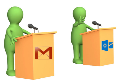 The Great Debate: Gmail vs. Outlook | | Pueblo Chamber of Commerce