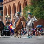 The Colorado State Fair Parade, hosed by the Greater Pueblo Chamber of Commerce in Pueblo, Colorado. ©Journal Communications/Jeff Adkins