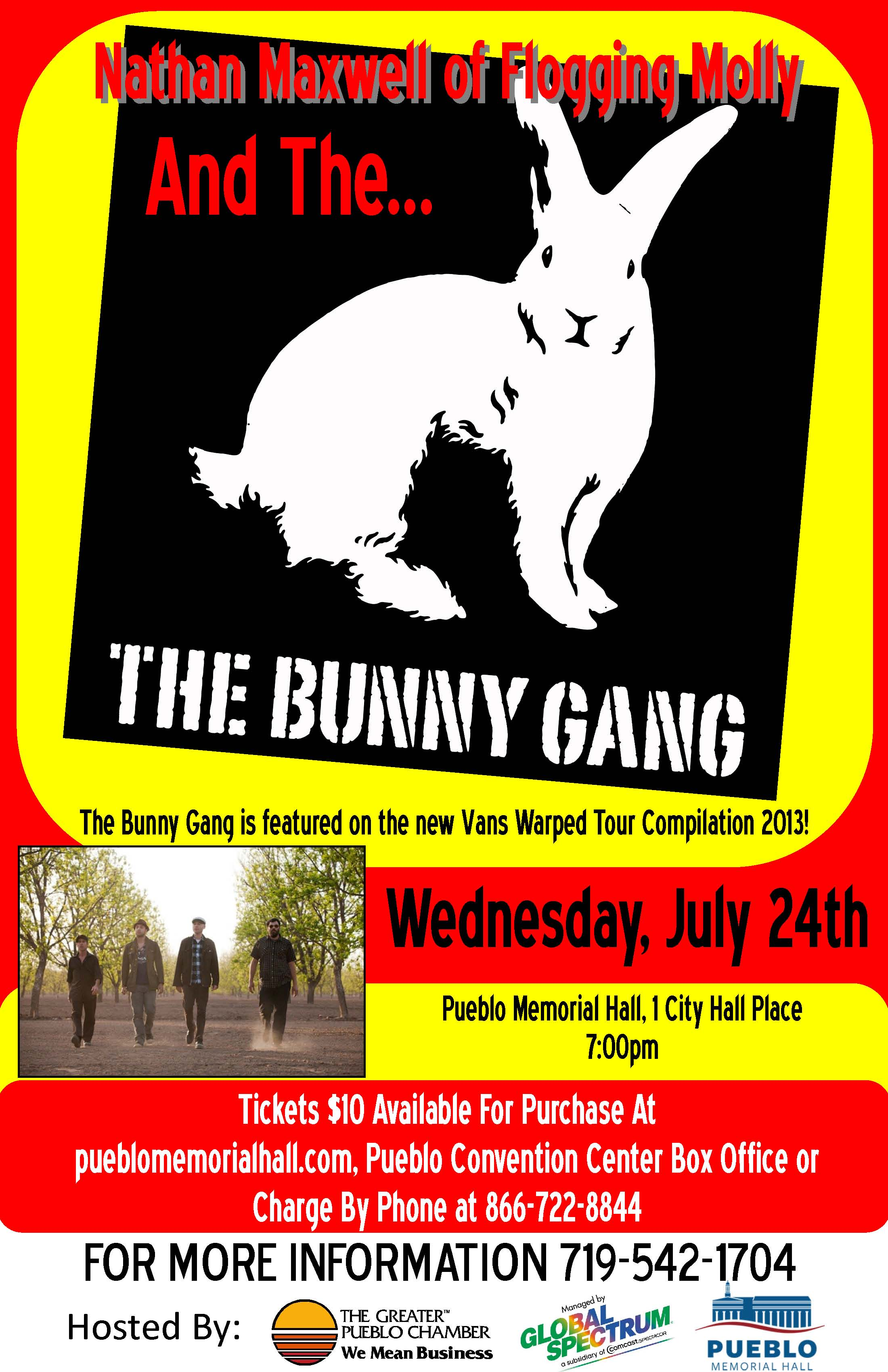 The Bunny Gang: Nathen Maxwell Interview - By the Barricade